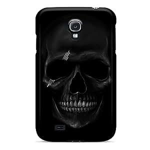PVD3549zPTL Case Cover Dark Skull Galaxy S4 Protective Case