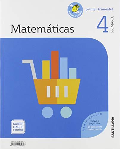MATEMATICAS 4 PRIMARIA SABER HACER CONTIGO por Santillana Educación, S.L.