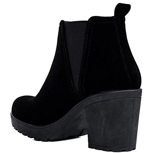 Talon Bloc Chelsea Plateforme 39 À Gr Bottines Boots qZ578x7w