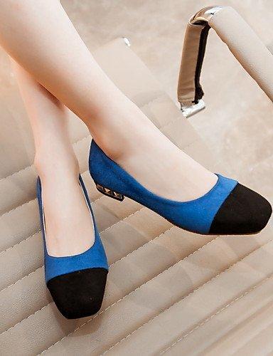 oficina casual dedo uk9 eu43 cn45 piel beige y us11 sintética cuadrado rosa de mujer plano negro pisos 5 5 aire pie carrera Beige zapatos al morado PDX de talón libre del pxq8acH