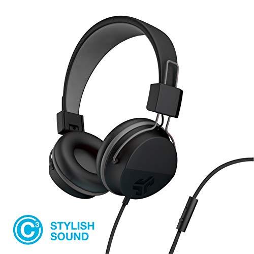 JLab Audio Neon Bluetooth Folding On-Ear Headphones | Wireless Headphones | 13 Hour Bluetooth...