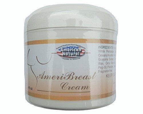 Price comparison product image American Natural AmeriBreast Cream 4 oz Tone & Firm Skin Care
