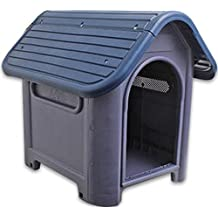 Indoor Outdoor Plastic Dog House Small And Medium Pet All Weather Doghouse Puppy Shelter by always-quality