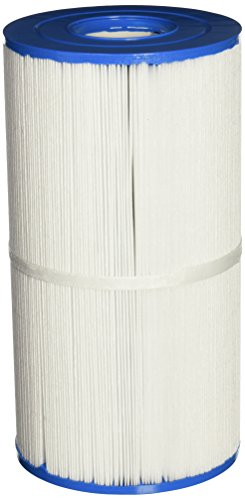 (QCA Spas 25351-800-000 45 Square Feet Hot Tub Filter for North Star, Aqarius, Phoenix, Orion, and Leo, 5.5 by 5.5 by 10.25-Inch, White)