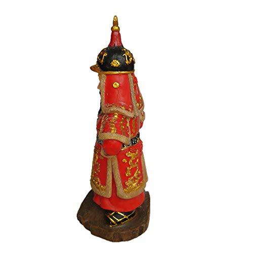 Korean Traditional Admiral Yi Sun Shin Figure Handmade Doll Yi Sun-sin