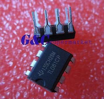 FidgetFidget amplificadores 50 Piezas TL081 TL081CP TI IC ...
