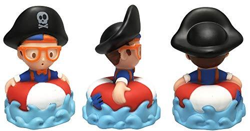 U.C.C. Distributing Blippi Bath Squirt Toy Mystery Pack - 1 Random Bathtub Squirter Included