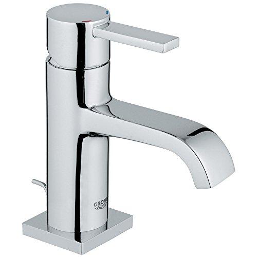 Allure Single-Handle Single-Hole Low-Arc Bathroom Faucet - 1.5 -