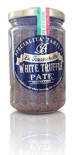 La Rustichella - White Truffle Pate - Large (280 g, 9.9 oz) - Kosher, Gluten Free