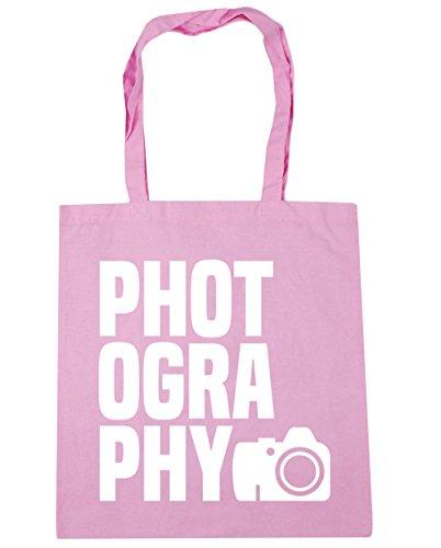 HippoWarehouse fotografía bolsa de la compra bolsa de playa 42cm x38cm, 10litros Classic Pink