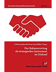 Der Rahmenvertrag ALS Strategisches Instrument Im Einkauf: 21