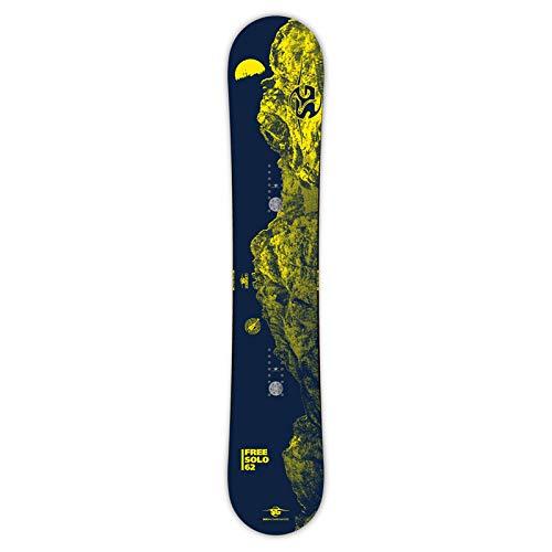 18-19 SG SNOWBOARDS エスジースノーボード FREE SOLO フリーソロス フリースタイル スノーボード 板 B07JJ683D8  FREE_SOLO 157