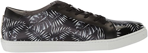 Kenneth Cole New York Men's Kam Leaf Sneaker, Medium Black