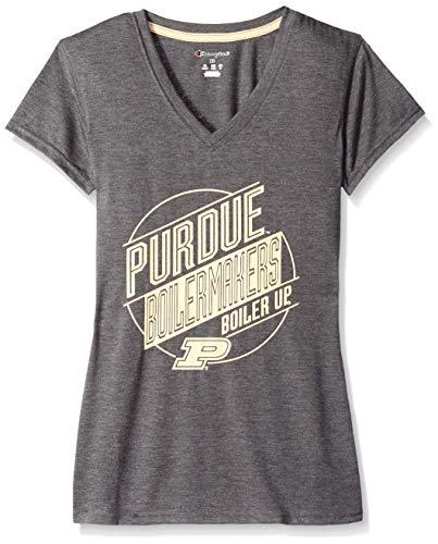 NCAA Womens Poly+ V-Neck T-Shirt