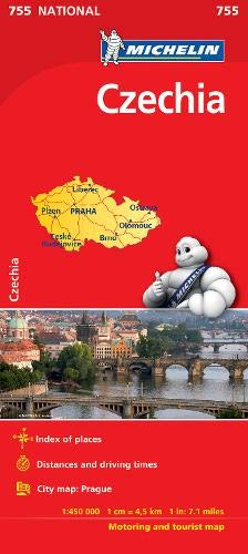 Czech Republic - Michelin National Map 755 (Michelin National Maps)