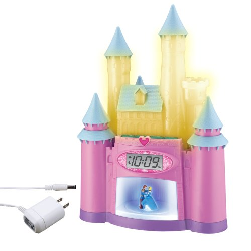 Disney Princess Magical Light-Up Storyteller Alarm Clock by Disney Princess