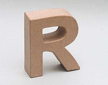 Letra de cartón - R: Amazon.es: Oficina y papelería