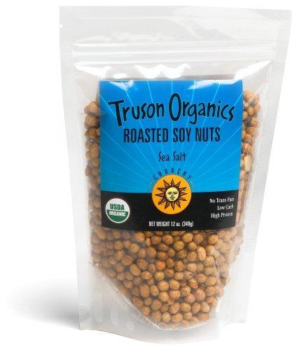 Sugar Free Raisins (Truson Organics Dry Roasted Soy Nuts, Sea Salt, 12-ounce Resealable Bags (pack of 12))