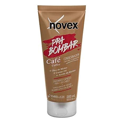Novex Acondicionador Pra Bombar Café 200mL - Hair boost crecimiento cabello