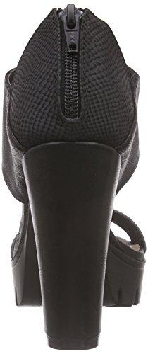 Blck Zapatos Schwarz Negro Mujer Bullboxer 192002f2s qROxU8w5X