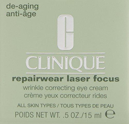 020714777647 - Clinique Repairwear Laser Focus Wrinkle Correcting Eye Cream, 0.5 Ounce carousel main 2