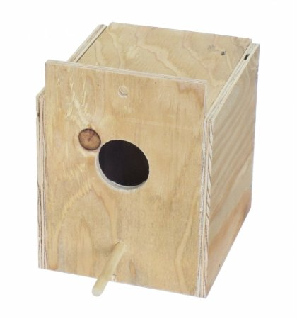 YML Assembled Wooden Nest Box for Outside Mount, Medium by YML
