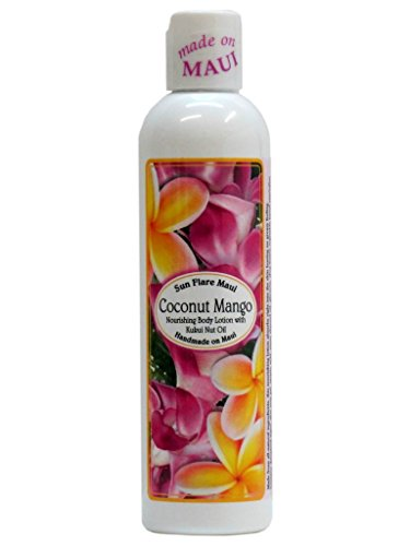 Mango Coconut Body Lotion - Hawaiian Sun Flare Maui Body Lotion Coconut Mango 8 oz. Bottle