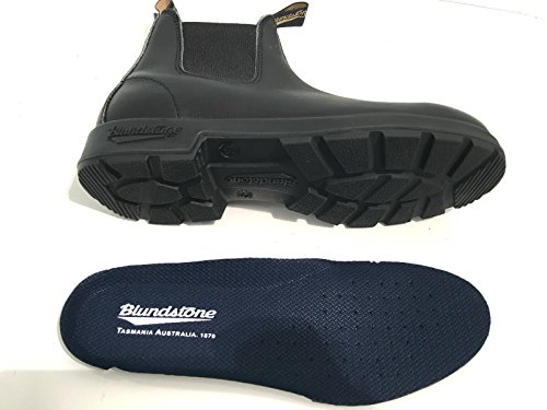 BLUNDSTONE UNISEX BCCAL 0012 0510 POLACCHINO NERO VITELLO ANTICATO FALL-WINTER 2016 negro