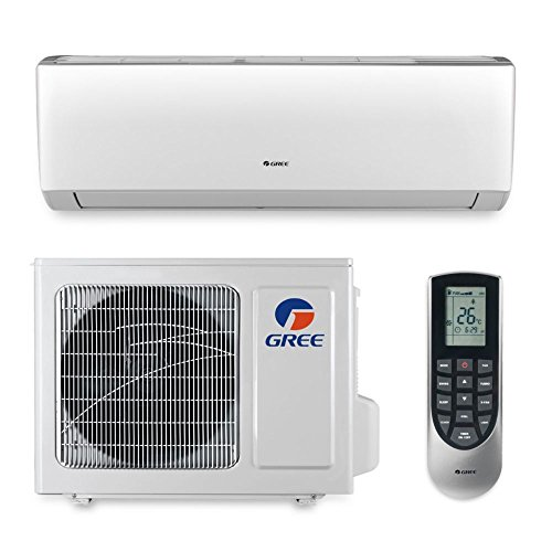 Gree VIR09HP230V1A - 9,000 BTU 23 SEER VIREO Wall Mount Ductless Mini Split Air Conditioner Heat Pump (Heat Pump Hspf)