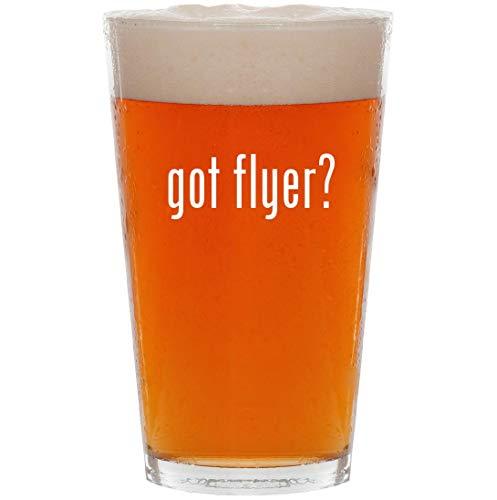 got flyer? - 16oz All Purpose Pint Beer Glass