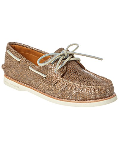 Sperry Top-sider Dames Gouden Cup A / O Metallic Tan Oxford