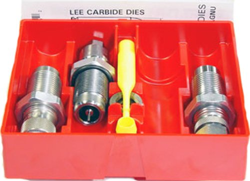 - LEE PRECISION 9-mm Luger Carbide 3-Die Set (Silver)