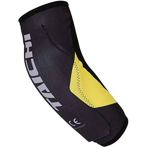 RS Taichi Stealth CE Elbow Guard - TRV060 (BLACK/YELLOW)