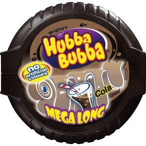 (WRIGLEY'S HUBBA BUBBA COLA MEGA LONG TAPE (Pack of 12))