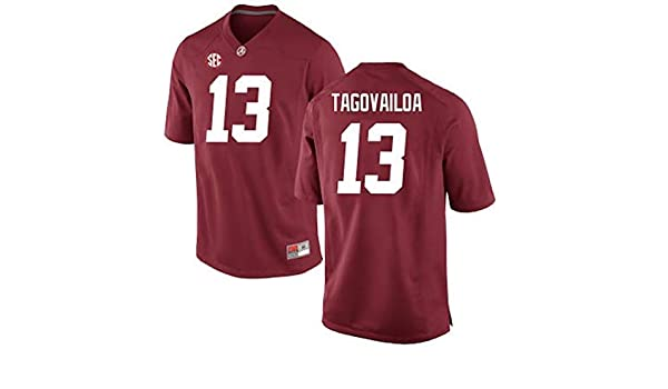 d15a2f036 NCAA Sports Tua Tagovailoa Alabama Crimson Tide  13 Stitched Gameday  Replica Jersey - White Best Christmas gifts 2018