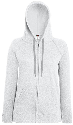 leggera The Felpa Grey Fruit cappuccio Loom stile casual donna Of con da Heather 4qxxB8R