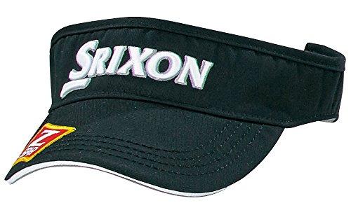 DUNLOP(ダンロップ) SRIXON バイザー ツアープロ着用モデル  SMH6332X ブラック