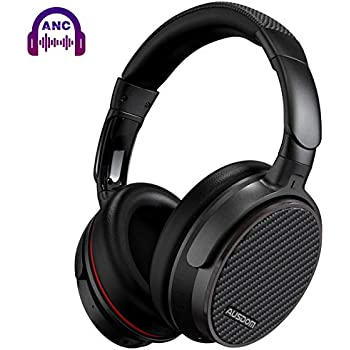 daef43c0929 Active Noise Cancelling Headphones Bluetooth, AUSDOM ANC7S Wireless  Headphones Over Ear with Microphone Hi-Fi Deep Bass Sound Carrying Case  Foldable ...