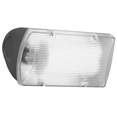 All Pro Outdoor Security FNF18PC 18-Watt Fluorescent Floodlight with Integral Photo Control, Bronze