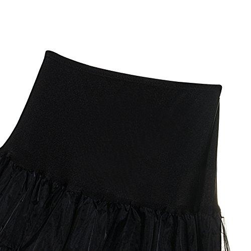 FeelinGirl - Enaguas cortas - para mujer negro