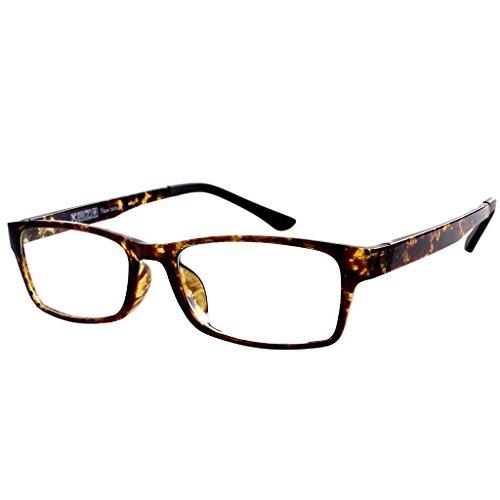 Southern Seas Computer Radiation -1.25 Distance Glasses Tortoiseshell Frames Mens Womens - Spectacle Frames Tortoiseshell