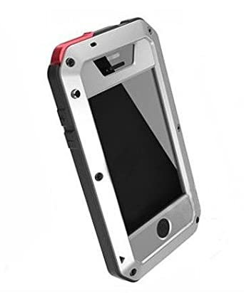 new arrival 96682 323c6 LUNATIK TAKTIK EXTREME IPHONE 4/4S CASE (SILVER BLACK AND RED ...