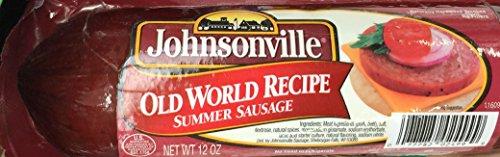 12oz Johnsonville Old World Recipe Summer Sausage, Pack of 1