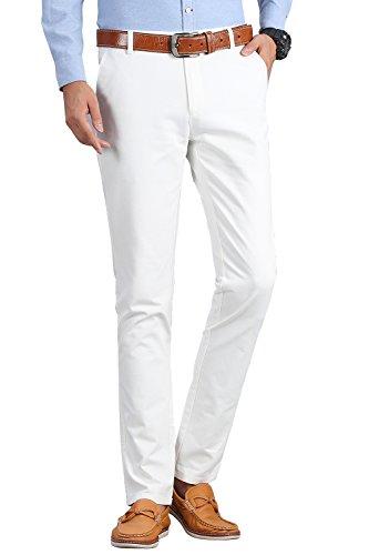 khaki and white dress - 1