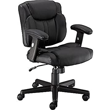 Amazoncom Staples Telford II LuxuraManagers Chair Black