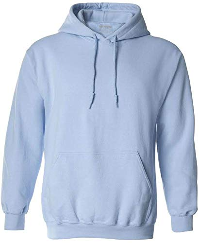 Joe's USA Hoodies Soft & Cozy Hooded Sweatshirt,X-Large Light Blue
