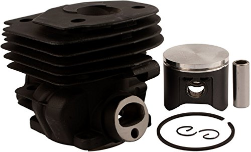 (NWP Piston and Cylinder Assembly (47mm) for Husqvarna 357 XP, 359 and Jonsered)