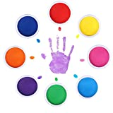 MoloTAR 8 Colors Rainbow Washable Large Ink Pads