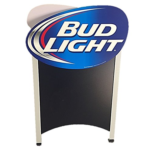 Bud Light Double Sided Chalkboard Advertising Sandwich A-Frame Board