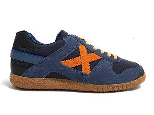 Men's shoes, colour Blue , brand MUNICH, model Men's Shoes MUNICH GOAL 1346 Blue BLU /ORANGE
